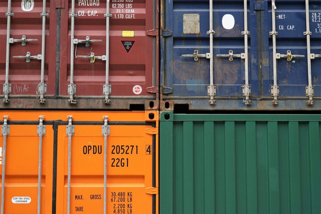container inboedel opslag